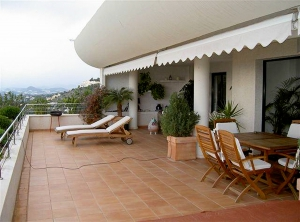 Penthouse appartment in Altea Hills te koop